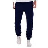 Casual Solid Sweatpants Jogger Pant