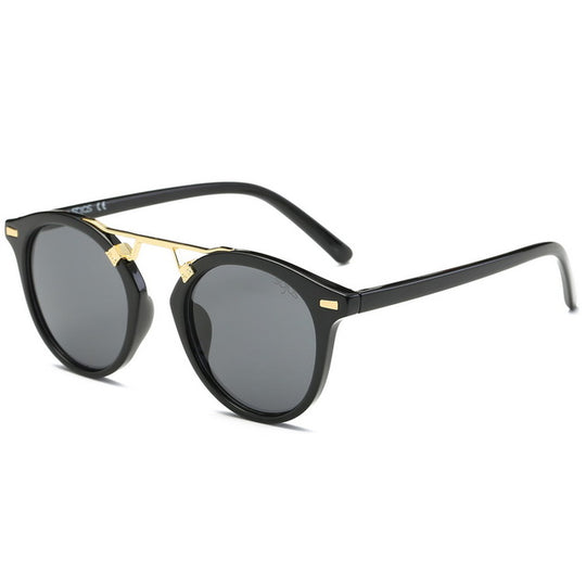 Oval Lunette Sunglasses