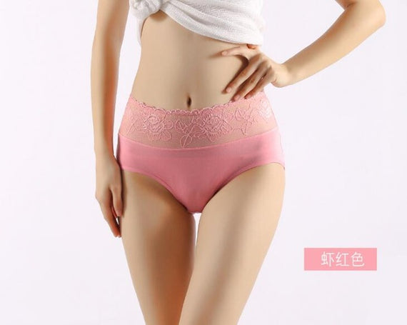 Transparent Hollow Women's Lace Panties