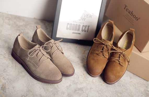 Retro Oxford Shoes for Women