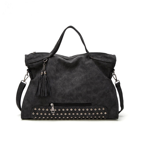 All-Purpose Style High Capacity Tassel Crossbody Bag