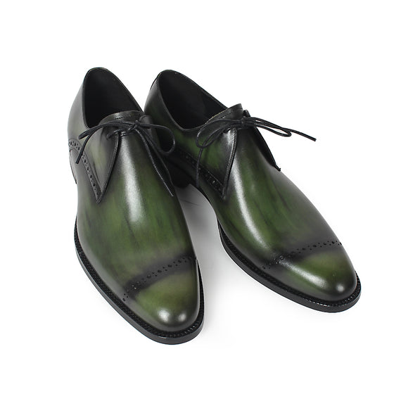 Handmade Genuine Leather Men Derby Shoes