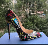 Colorful Women high heels Spring Wedding Party Shoes