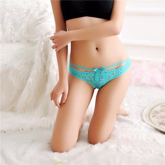 Women Sexy Lace Briefs Panties Thongs G-string Lingerie Underwear