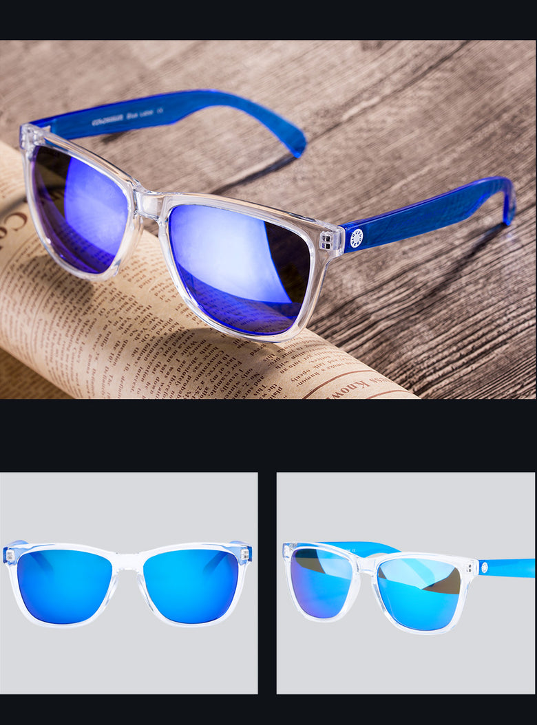 Cute Multicolored Holiday  Protection sunglasses
