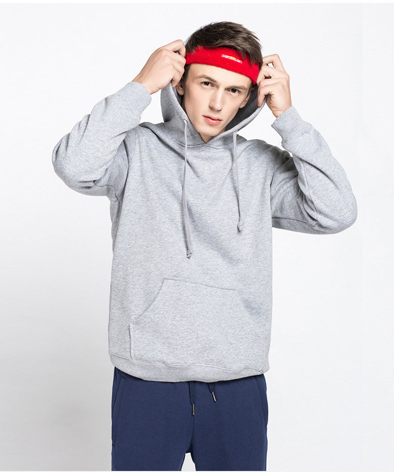 men's cotton and cashmere Hoodie