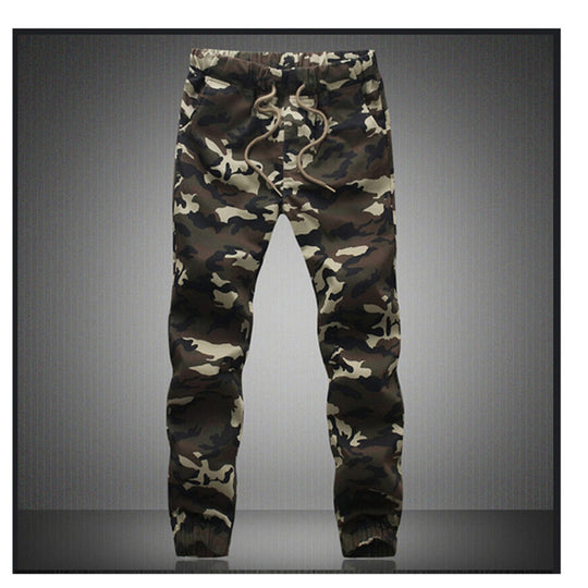 Loose Comfortable Pencil Harem Camouflage Military Pant