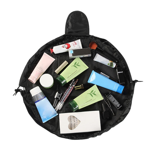 Drawstring Cosmetic Pouch Makeup Travel Bag