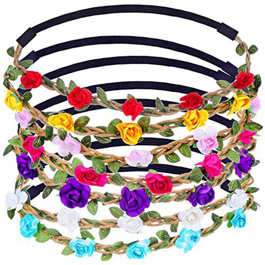 Women Rose Flower Hair Accessories