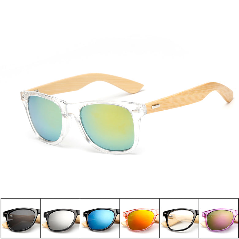 Wooden bamboo Sunglasses Men and Women