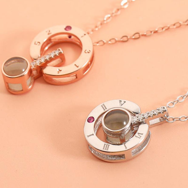 Languages Projection Love Necklace