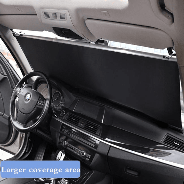 Automatic retractable foldable window shade sunshade umbrella car sunshade
