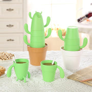 Stacking Cactus Mug Set