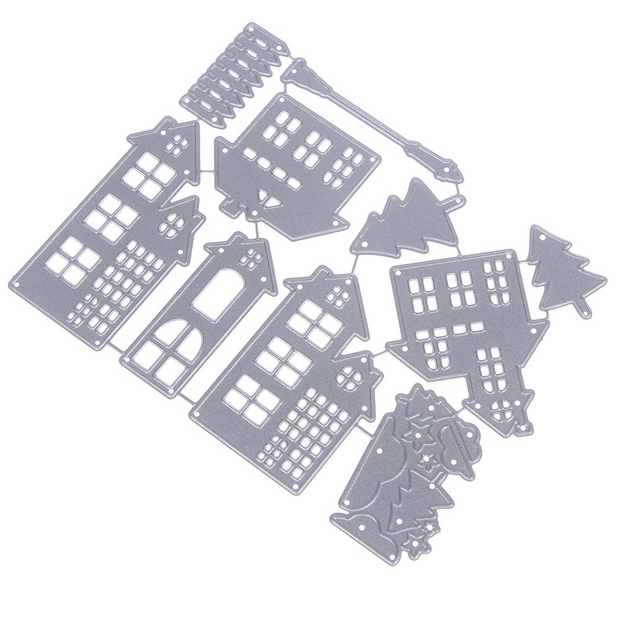 House Cutting Dies Stencil DIY Scrapbooking Paper