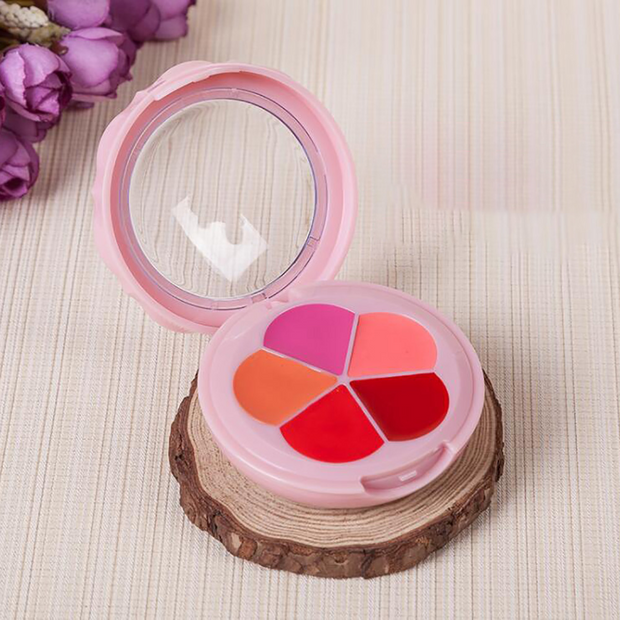 Flower Shape Empty Lipstick Case