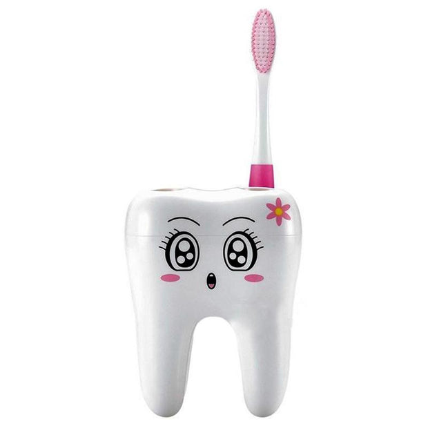Cutesy Toothy Toothbrush Holder