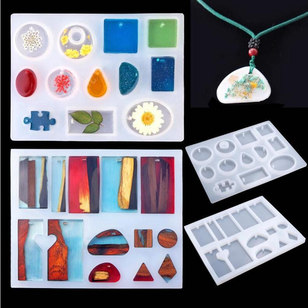 83 Pieces Silicone Casting Molds and Tools Set