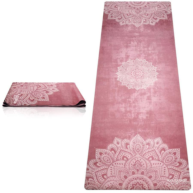 Hot Travel Yoga Mat Mandala Ginger