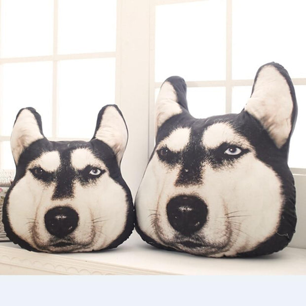 Decorative Husky Pillow