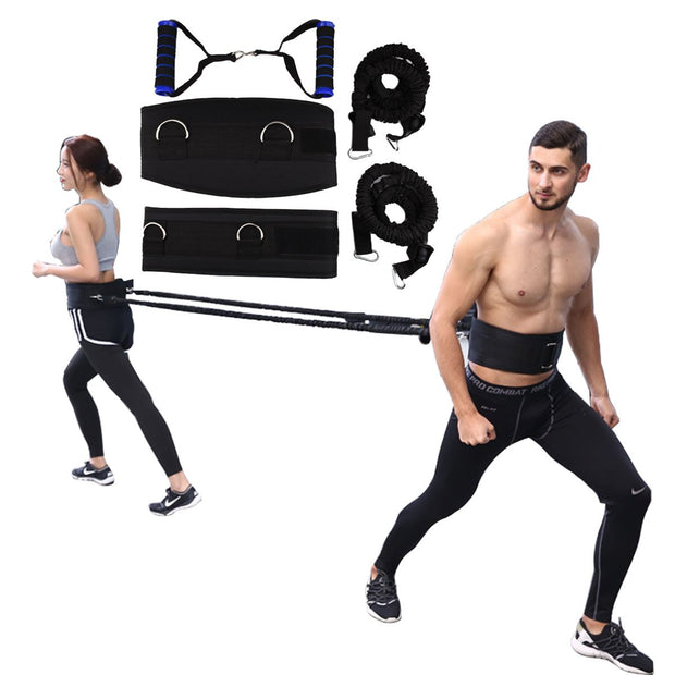 Resistance Bands Strength Training Speed Agility Pull Rop