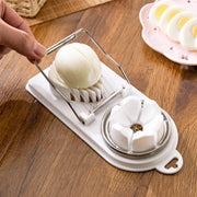 Double Hardboiled Egg Slicer