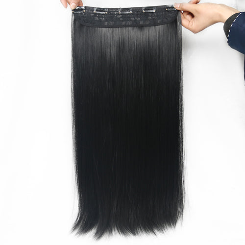 Straight Synthetic Clip On Hair Extension Pieces 5 Clips 24 inch