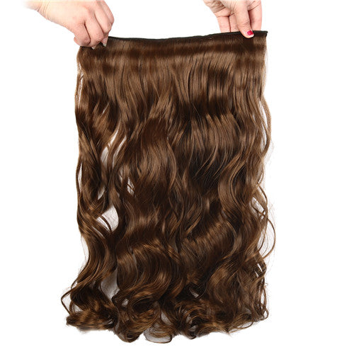 Suri Hair 5clips/piece long body wave hair extension synthetic Clip in Hair pieces 110g Half Full Head piece 14colors for choose