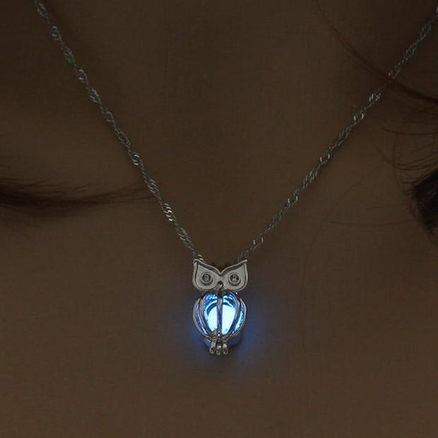 Elegant Owl Necklace
