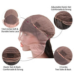 Load image into Gallery viewer, Fringe Bang Straight Lace Frontal Bob Wig 130% Density  (Pre-Made)