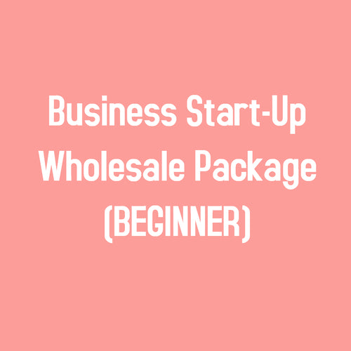 Business Start-Up Wholesale Package (Beginner)