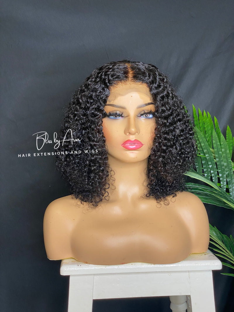 AMARIE - Jerry Curly lace Closure Wig (Custom-Made)