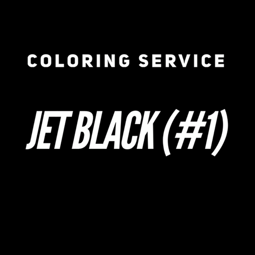 Coloring Service - Dye Jet Black (Color 1)