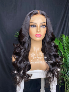 DIANA Body Wave Lace closure wig (Custom-Made)