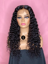 Deep Curly - Lace Frontal Wig 130% Density  (Pre-Made)