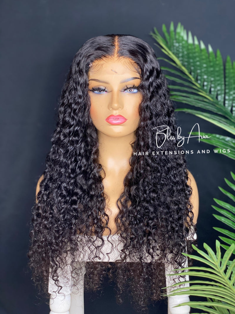 NAOMI - Deep Wave lace Closure Wig (Custom-Made)