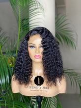 NICOLE - Deep Curly lace Closure Wig (Custom-Made)