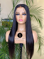 Load image into Gallery viewer, Beginner Straight Lace Frontal Wig 130% Density  (Pre-Made)