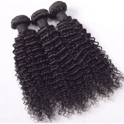 Kinky Curly Virgin Hair Extensions (3 Bundles)