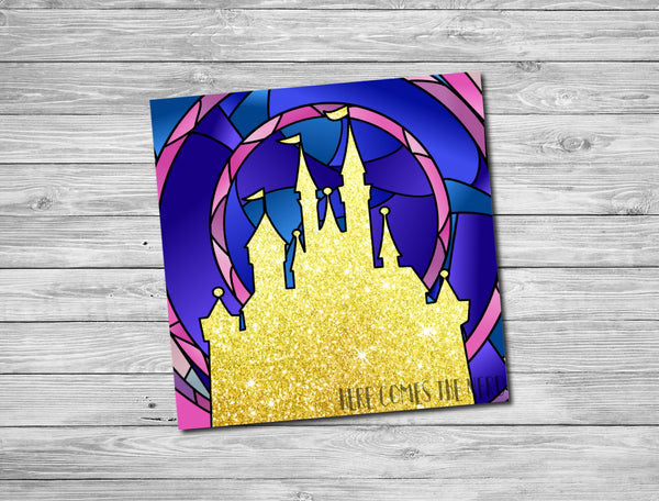 Beauty and the Beast & Belle Castle - Fine Art Prints