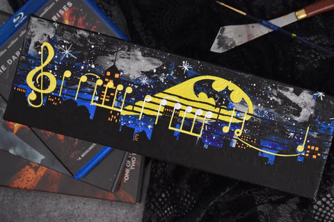 "Batman's Theme - 12"" x 4"" Music Mini"