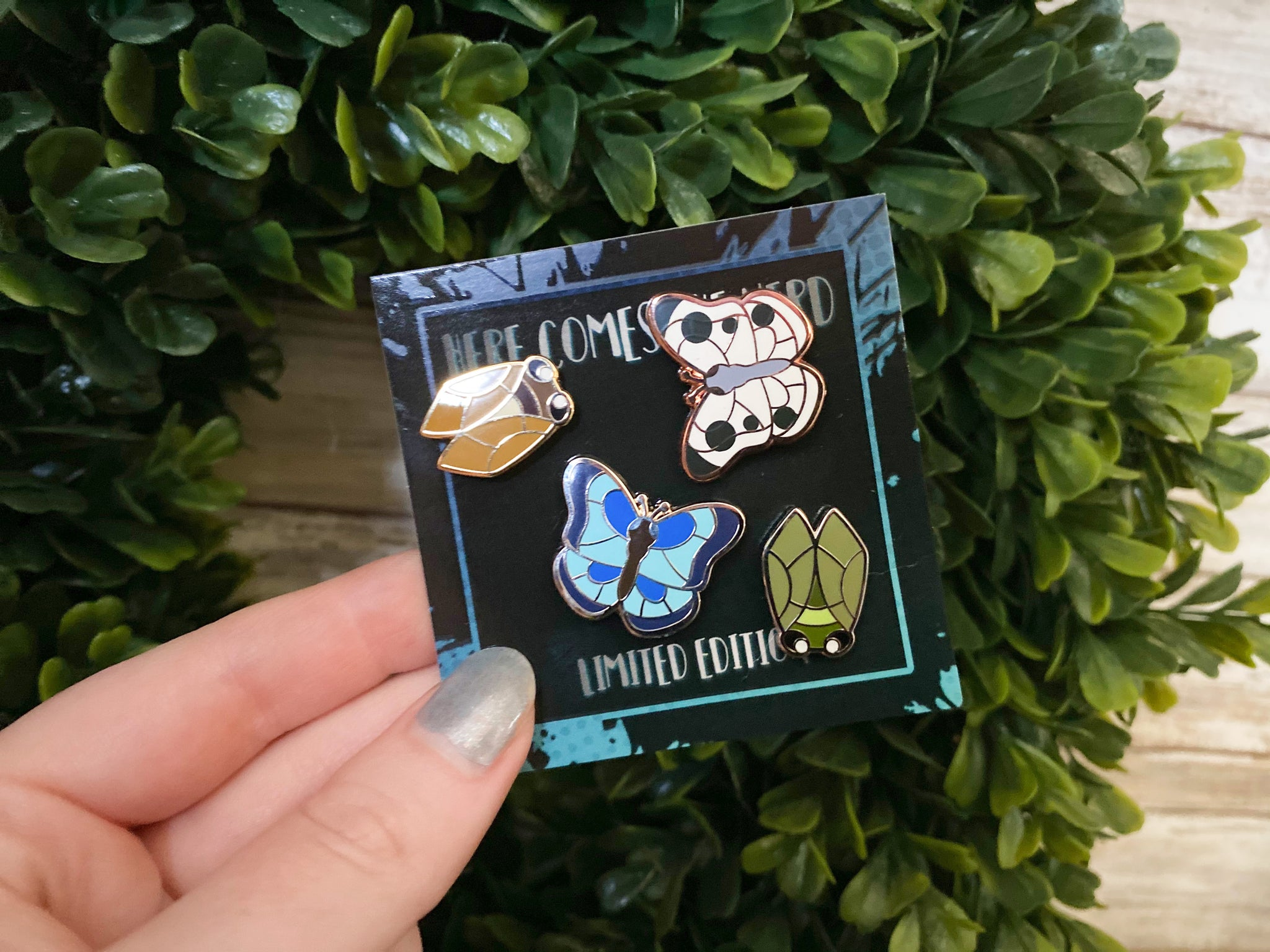 *Collectible* *MINI* Bag of Bugs - 4 Enamel Pins
