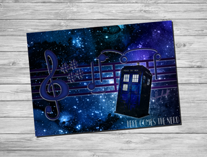 REVAMP: Doctor Theme Song - Fine Art Print