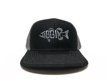Jiggin' Fish Trucker Hat - Black