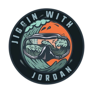 Jiggin Exclusive Circle Stickers