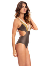 Glam One Piece - Olive