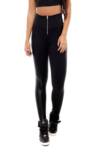 Disco Zipper Leggings