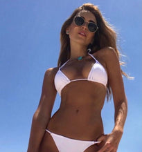 Cheeky Triangle Bikini TOP - White
