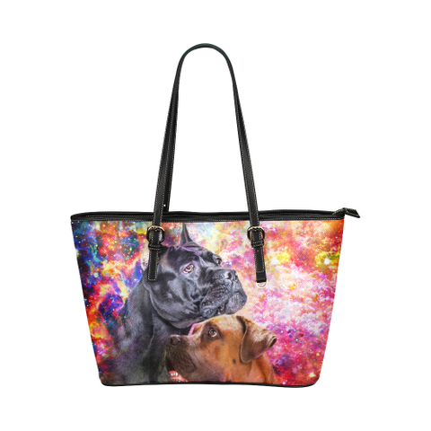 Cane Corso Leather Tote Bag