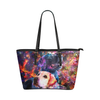 Labrador Retriever Leather Tote Bag