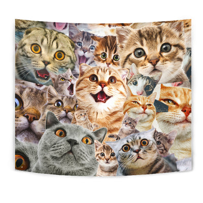 Cat - Wall Tapestry